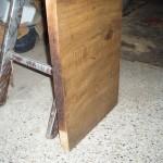 Arbeitsplatte zu nah am Holzherd
